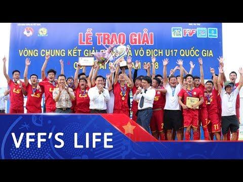 Viettel lần đầu tiên lên ngôi vô địch tại VCK U17 VĐQG
