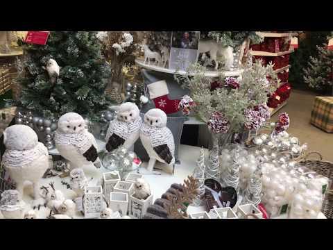 A Very British Christmas Shopping Trip in London 4K