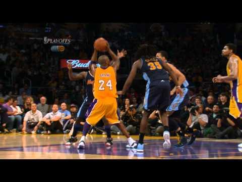 Kobe Bryant's Spectacular Shot