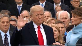 Donald Trump Sworn In As 45th President