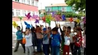 İbrahim Baltacı Ortaokulu Anasınıfı-2013 RÜZGAR GÜLLERİMİZ