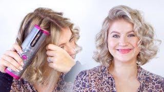 Worlds First WIRELESS AUTOMATED Curling Iron | Milabu