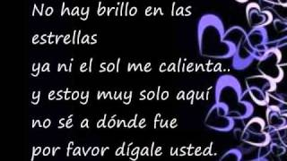 Digale- David Bisbal ( with lyrics in Spanish and english translation)