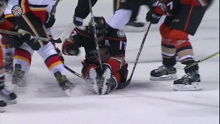 Kesler Wisely Sits On Loose Puck To Waste Valuable Time