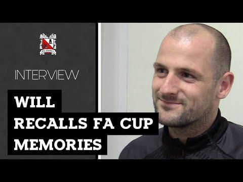 Will Recalls FA Cup Memories