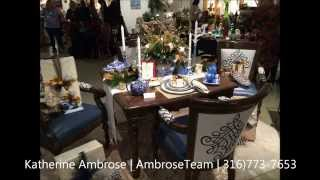 Holiday Tables By Designing Women For Wichita Center For The Arts