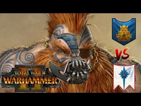 Dwarfs vs High Elves | V E N G E A N C E - Total War Warhammer 2
