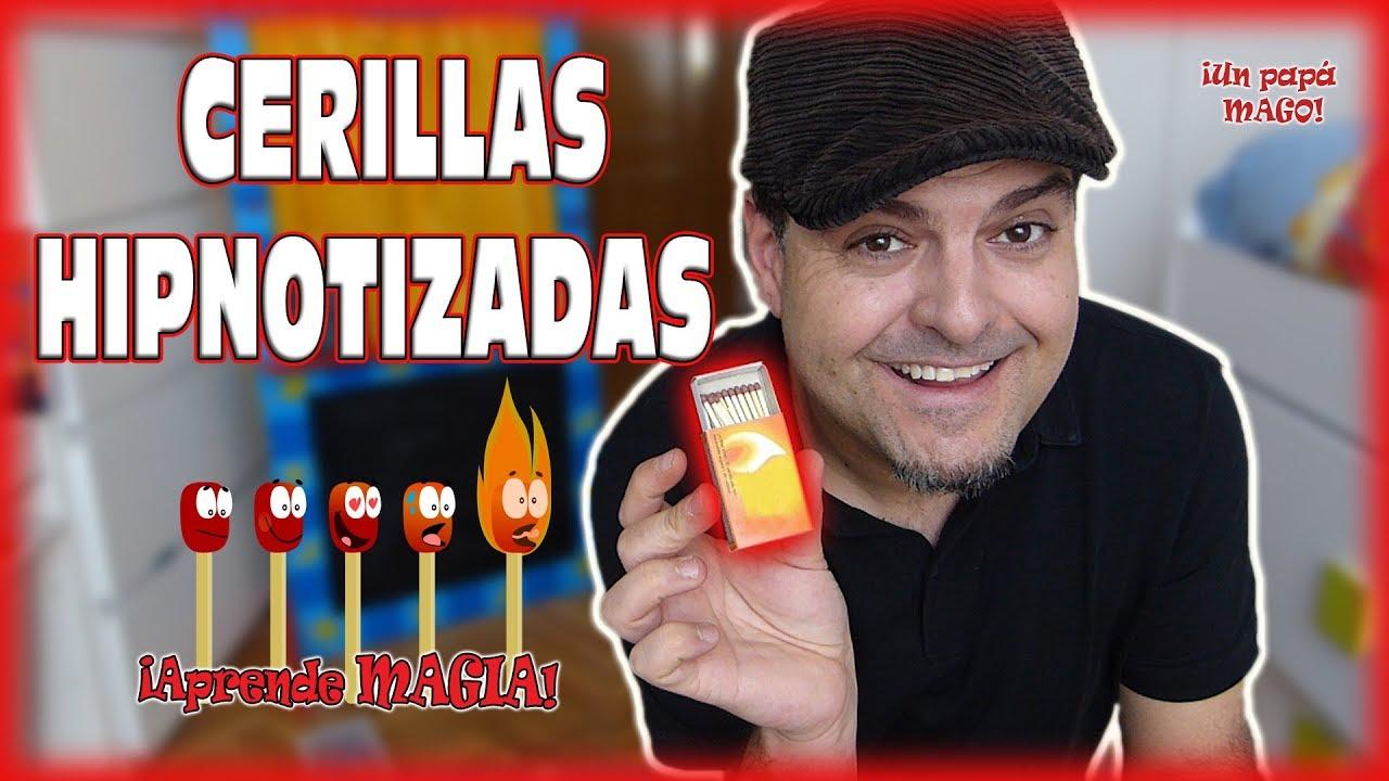 TRUCO DE MAGIA CERILLAS HIPNOTIZADAS | Aprende Magia | Is Family Friendly