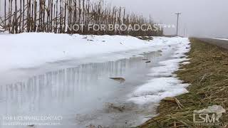 12-13-2018 Galesburg, IL - Heavy Fog and Minor Flooding