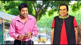 Brahmanandam & Vennella Kishore Blasting Comedy Scene | Mera Intekam | Best Comedy In Hindi
