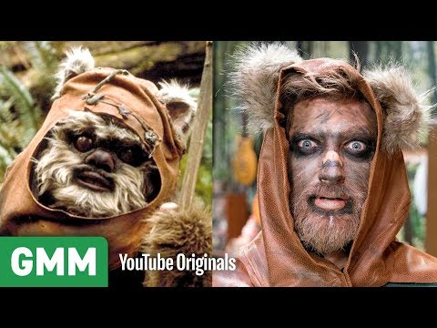 Ewok Makeup Transformation ft. Kandee Johnson