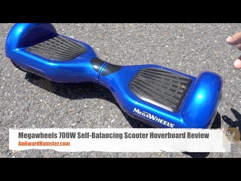 Megawheels 700W Self Balancing Scooter Hoverboard Review