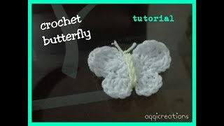 How to crochet butterfly step by step || easy butterfly motif tutorial for beginners