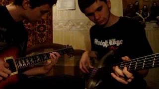 36 Crazyfists - Waterhaul (guitar & bass cover)