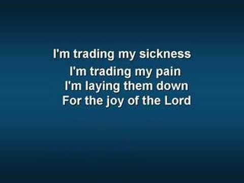 Trading My Sorrows - Youtube Lyric Video