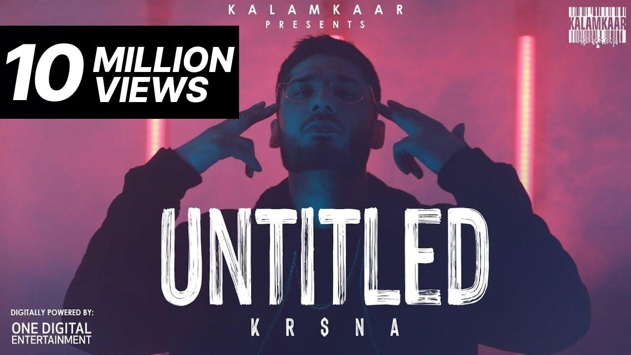 UNTITLED LYRICS - KRSNA (KR$NA) | RAP 2020