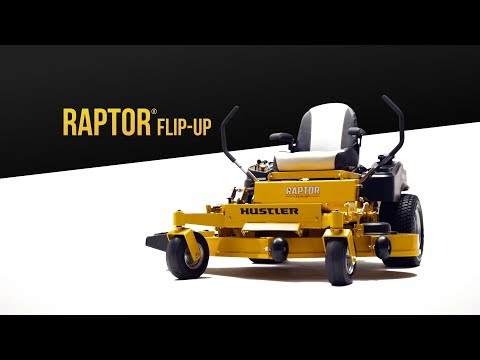 2019 Hustler Turf Equipment Raptor Flip-Up 54 in. Kawasaki 23 hp in Eastland, Texas - Video 1