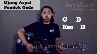 Chord Gampang (Ujung Aspal Pondok Gede - Iwan Fals) By Arya Nara (Tutorial Gitar) Untuk Pemula