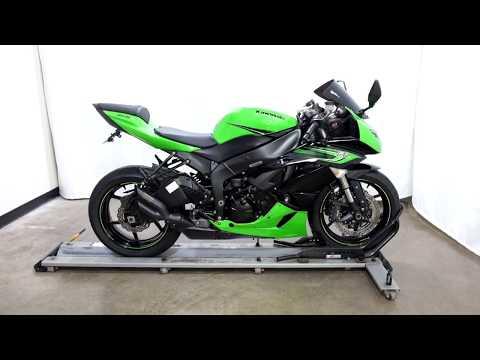 2011 Kawasaki Ninja® ZX™-6R in Eden Prairie, Minnesota - Video 1