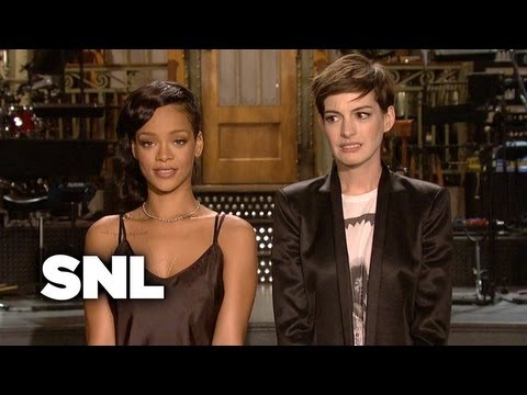 SNL Promo: Anne Hathaway, Rihanna - Saturday Night Live