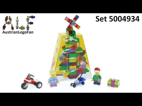 Vidéo LEGO Saisonnier 5004934 : Christmas Ornament
