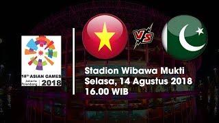 Live Streaming Vidio.com Asian Games 2018 Timnas U-23 Vietnam Vs Pakistan Pukul 16.00 WIB