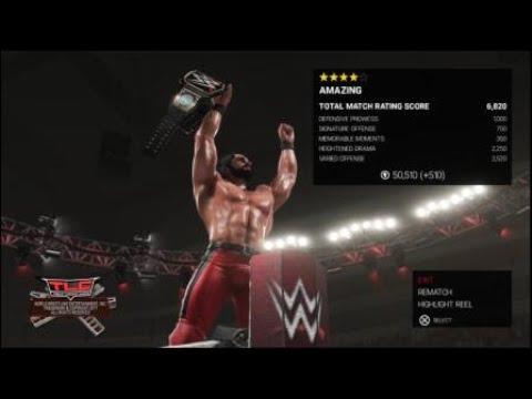 WWE 2K19 Seth Rollins vs AJ Styles WWE Championship match