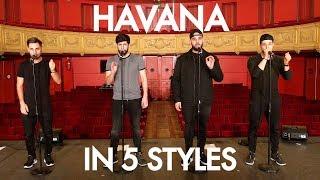 Berywam   Havana (Camila Cabello Cover) In 5 Styles   Beatbox