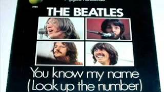 (DISCO RUIDO & THE BEATLES ) Mrs.LOVE * You know my name (Look up the number)