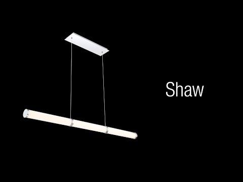 Video for Shaw Chrome One-Light LED Mini Pendant