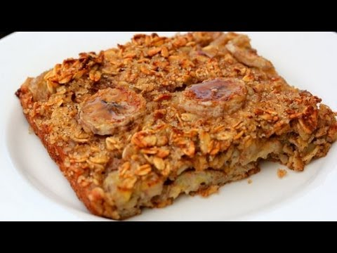 Video Baked Banana Oatmeal - Clean & Delicious® Recipe