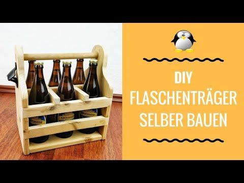 DIY Flaschenträger/Bierträger bauen