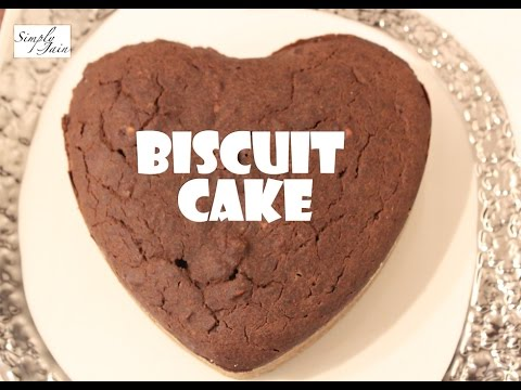 Video Biscuit Cake   How To Make Biscuit Cake   Quick & Easy Cake   Simply Jain