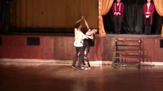 ROKASO Showdance 2017 Cirkus - Oliver Fusek & Gabriela Marková - Obludárium