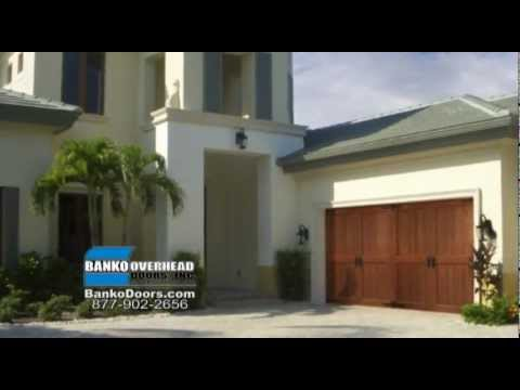 Florida Garage Door Installation Service And Repair Banko