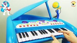 """Детский рояль-синтезатор от компании Интернет-магазин """"Timatoma"""" - видео"""