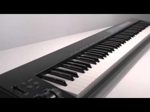 Alesis Q88 | 88-Key USB/MIDI Keyboard Controller with Pitch & Mod Wheels