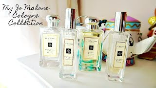 My Jo Malone Cologne Collection // Spring Scents