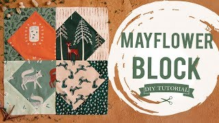How to Make a Mayflower Quilt Block