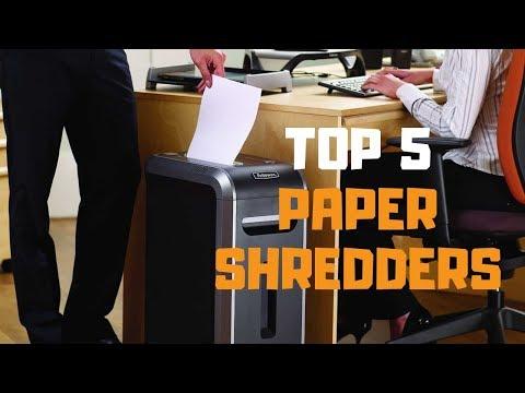 Best Paper Shredder in 2019 – Top 5 Paper Shredders Review