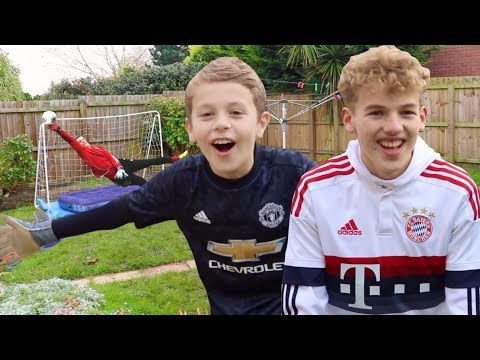 NEUER VS DE GEA FOOTBALL CHALLENGE!!