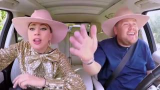 "Lady Gaga Singing ""Millions Reasons"" Carpool Karaoke!"