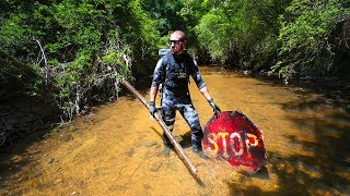 Exploring Most Polluted River In Urban City!! (major pollution)   Jiggin' With Jordan