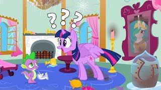 Май Литл Пони oкрашивающиеся Приключения Кто навел беспорядок в загадочной комнате Кантерлота?