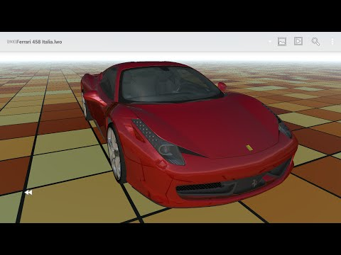 Video of Buf3D 3d and lego model viewer