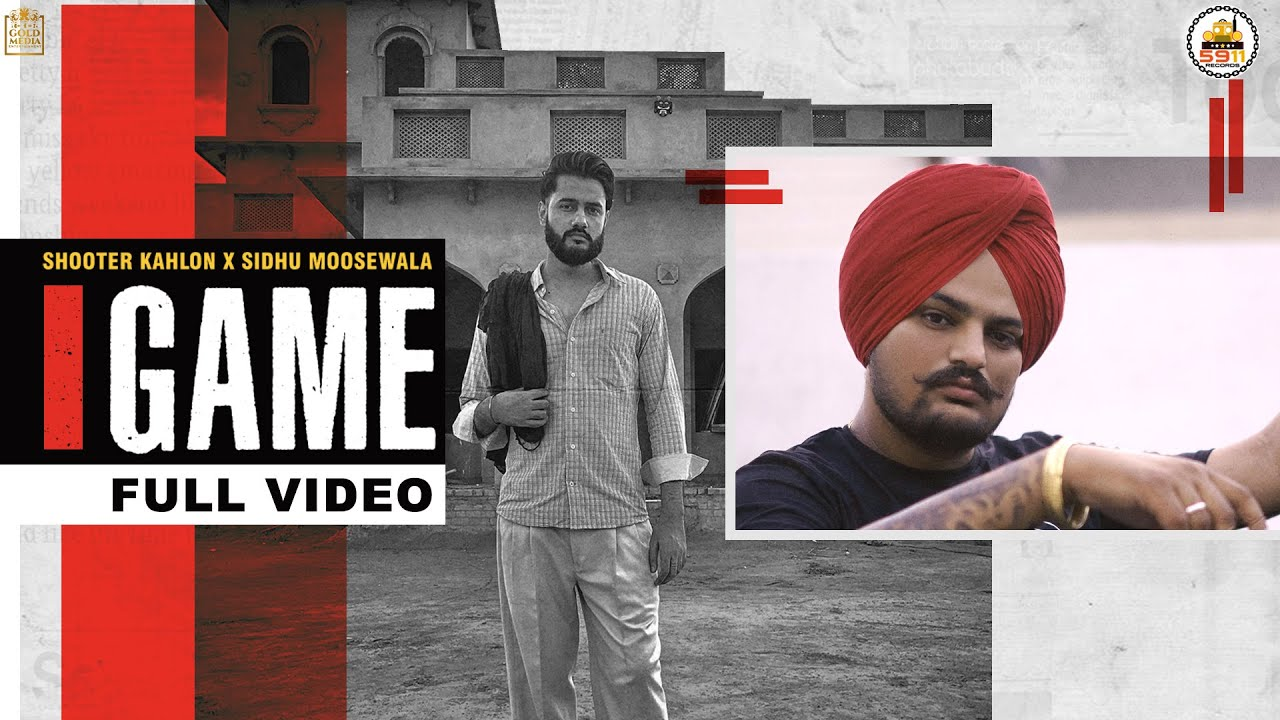 Game Lyrics by Shooter Kahlon and Sidhu Moose Wala Full Song Lyrics