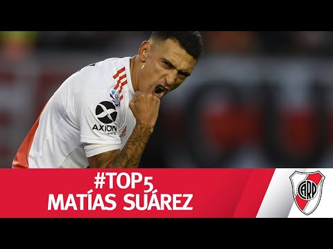 #TOP5 - Los mejores goles de MATÍAS SUÁREZ en RIVER PLATE