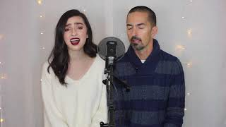 The Prayer - Celine Dion  Andrea Bocelli (cover) by Genavieve FEAT. MY DADDY