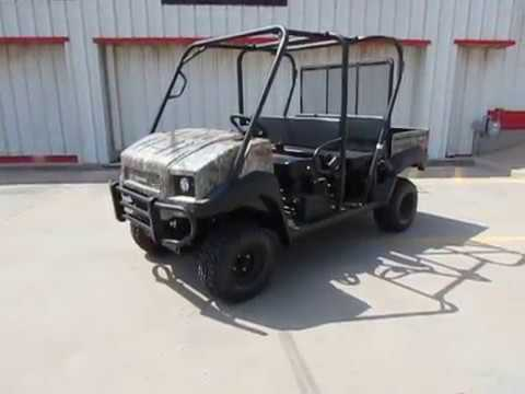 2019 Kawasaki Mule 4010 Trans4x4 Camo in Wichita Falls, Texas - Video 1