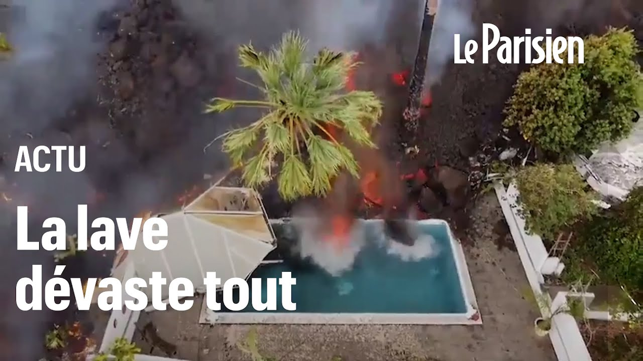 «Votre vie entière s'en va comme ça...» : la détresse des victimes de l'éruption à La Palma